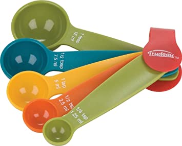 a81fabf1e8e Image Unavailable. Image not available for. Colour  DREAMHUB (TM) Branded  ABS Colorful Kitchen Cooking and Baking Measurement Measuring Cups Spoons  Set