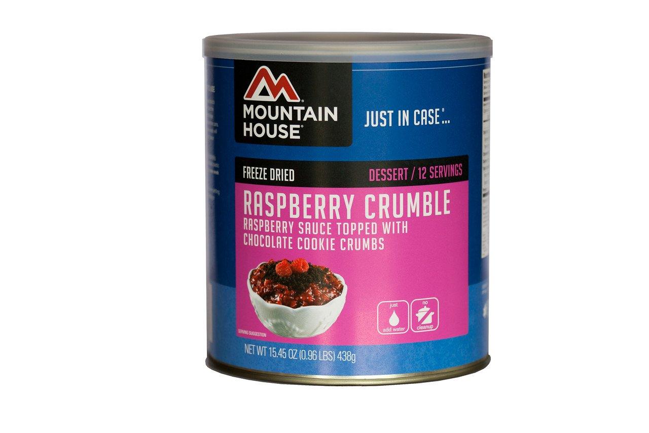 Mountain House Raspberry Crumble #10 Can
