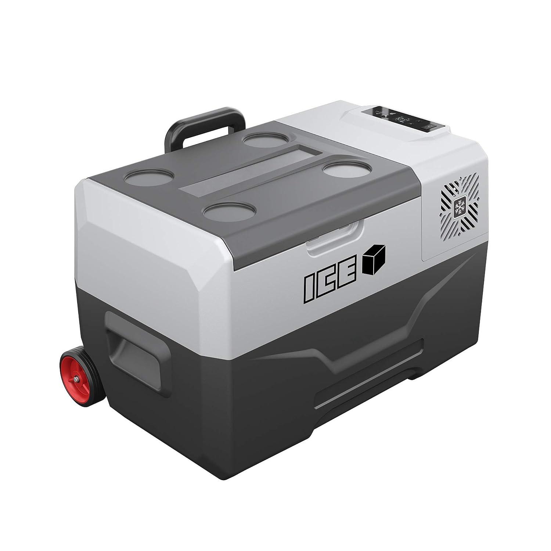 Icecube 31 Quart 30 Liter Portable Car Refrigerator Freezer Cooler DC 12V 24V AC 110V