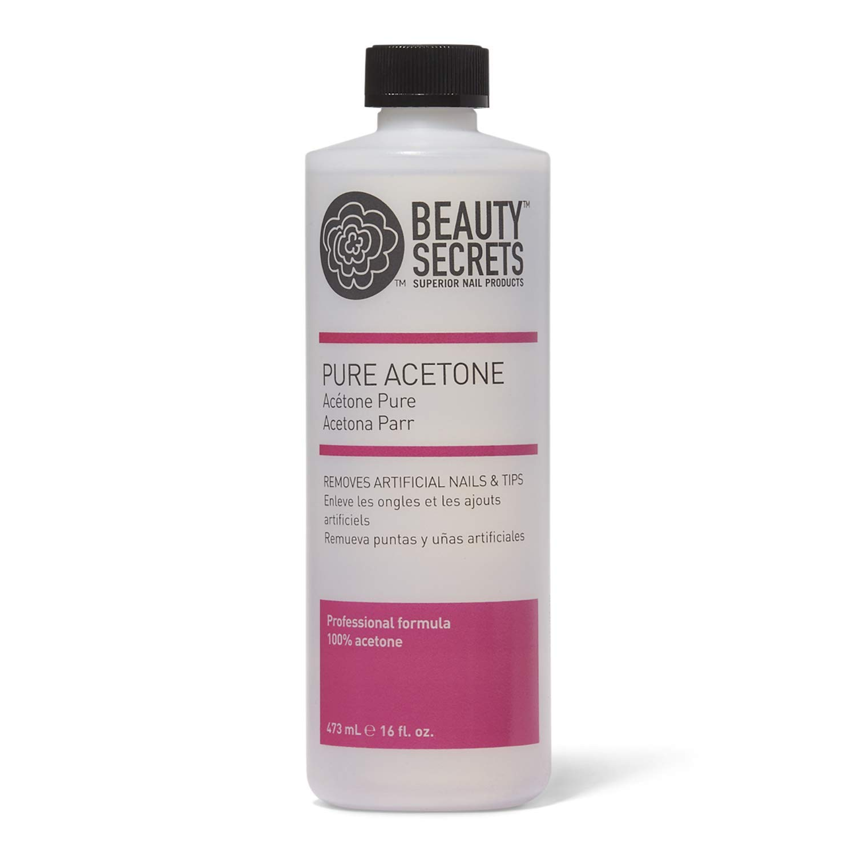Pure Acetone Manicurist Solvent by Beauty Secrets