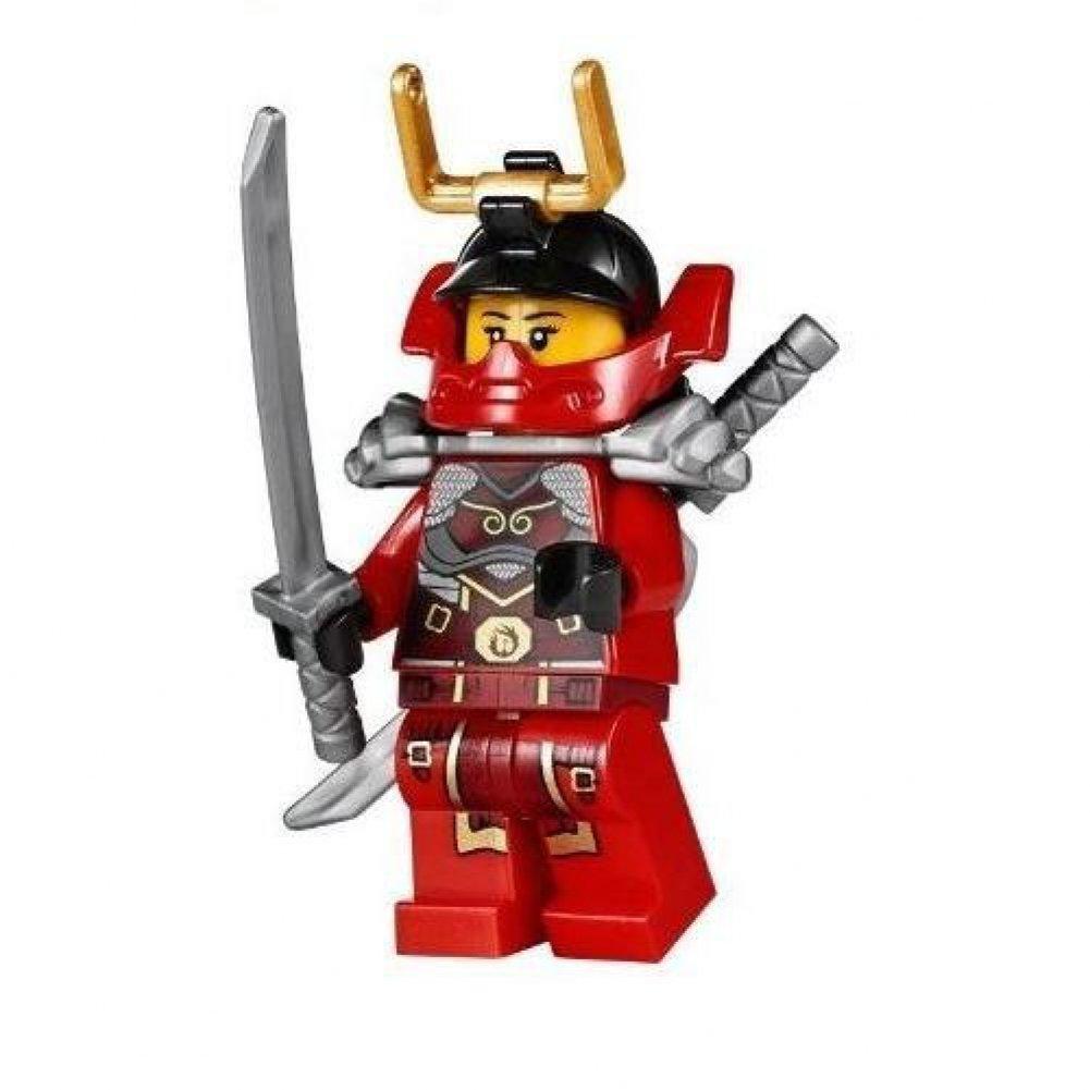 LEGO® Ninjago Minifigure Nya Samurai X Female Red Ninja ...
