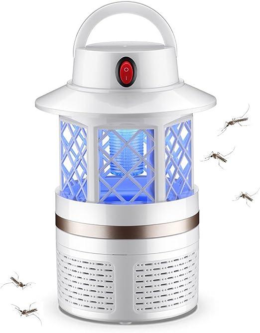 ÉTM Lámpara Insecticida | Casa Mosquito Insect Lámpara De Trampa | Multifunction Mosquito Killer Lámpara Electrónica Adecuado para El Campamento/Jardín/Familia/Oficina/Casa (Blanco): Amazon.es: Hogar