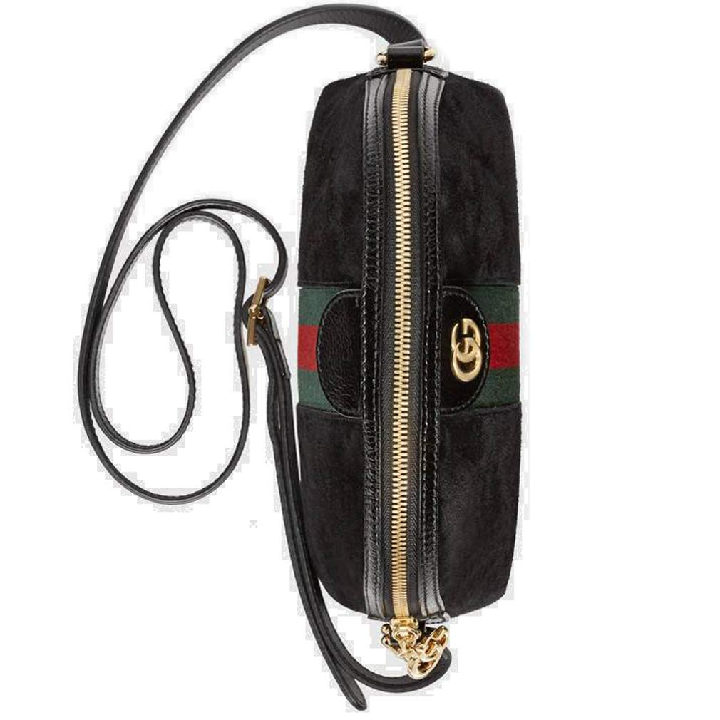 3b013a5f2145 Amazon.com: Gucci Ophidia Small Shoulder Bag Black Article: 499621 D6ZYG  1060 Made in Italy: Shoes