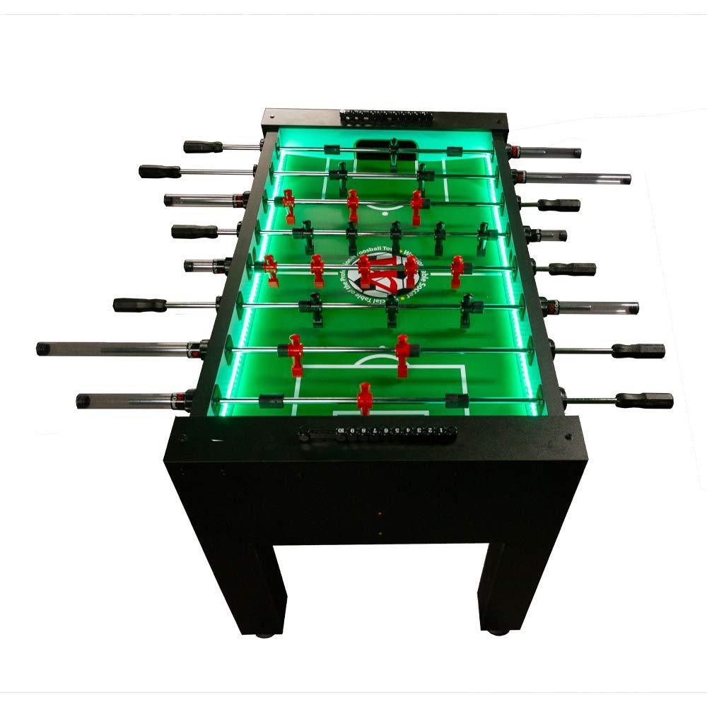 Warrior Table Soccer Professional Foosball Table, LED Enhanced by Warrior Table Soccer
