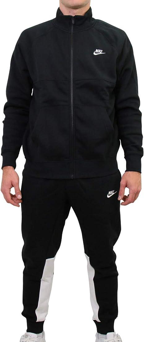 Nike BV3017 Chándal, Hombre, Negro/Blanco, XS: Amazon.es: Deportes ...