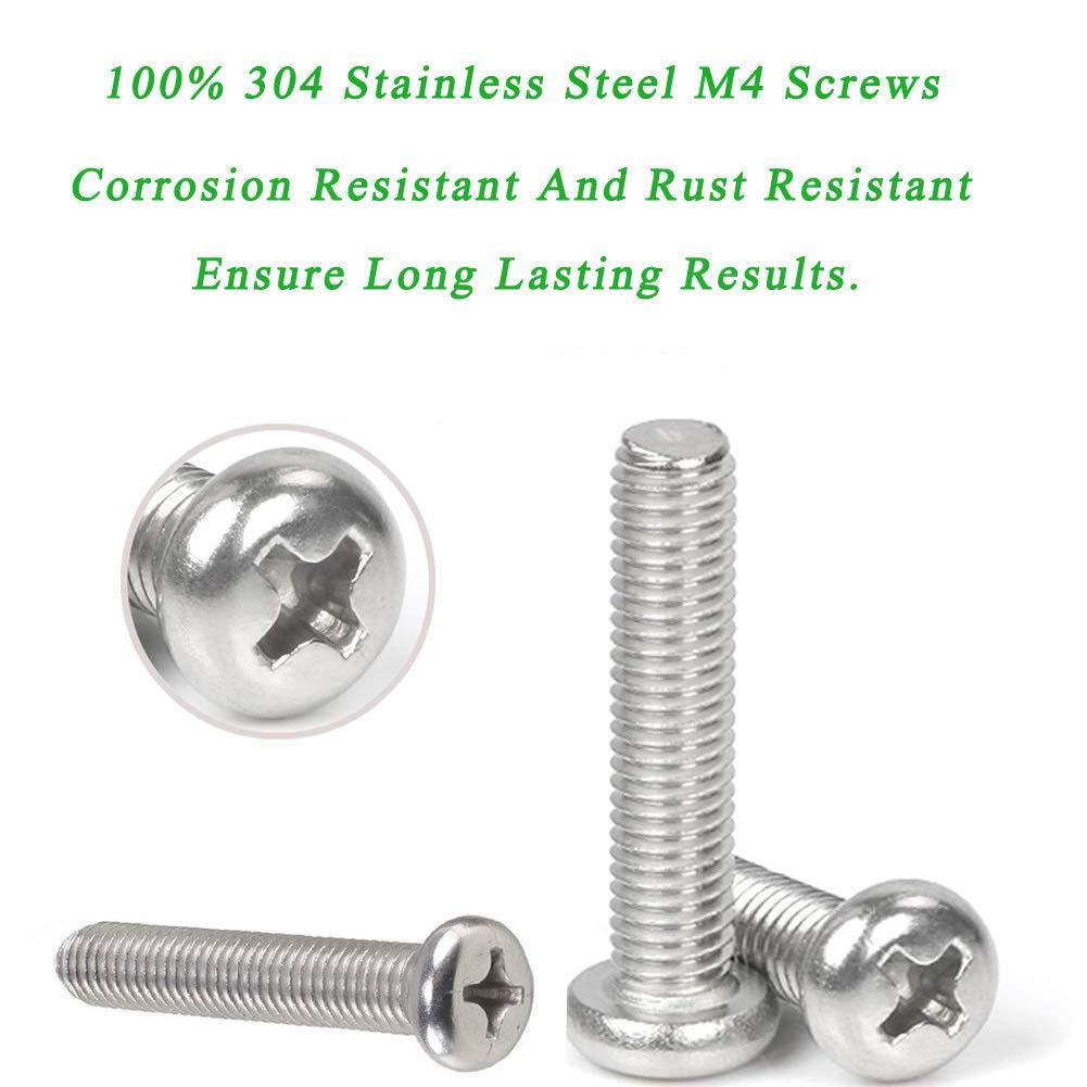 100pcs Strandard Metric M4 Zinc Plated Steel Countersunk Washers M4×14mm