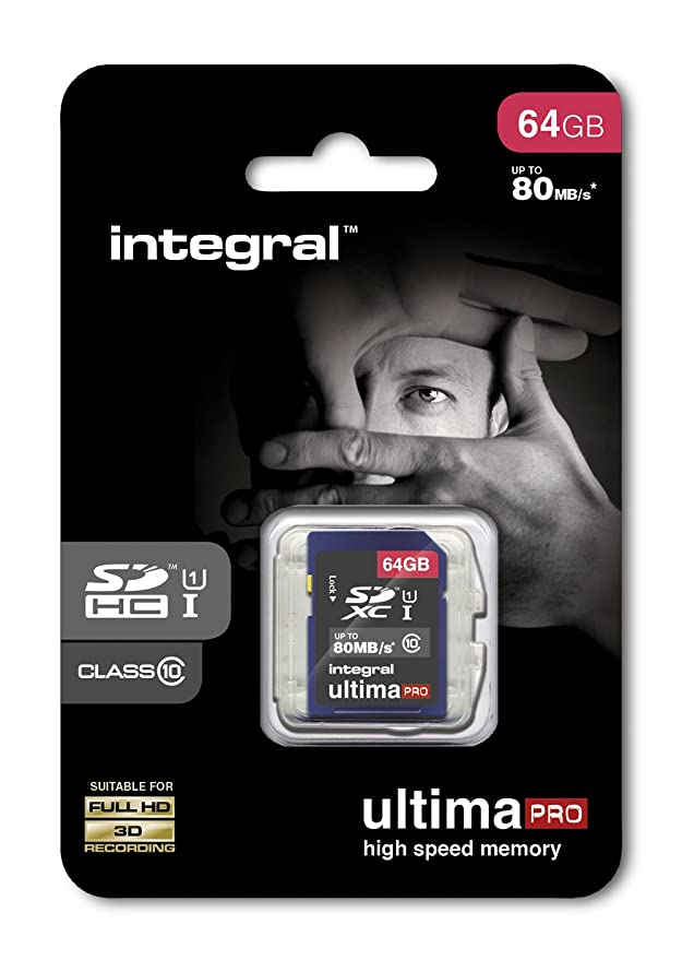 Integral 64GB SDXC UltimaPro 64GB SDXC UHS-I Class 10 Memoria ...