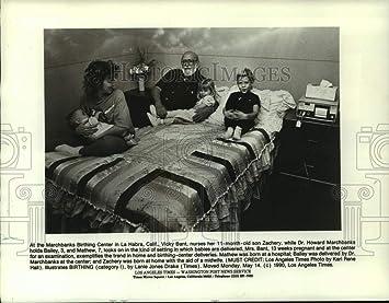 Amazon.com: Vintage Photos 1990 Press Photo Marchbanks ...