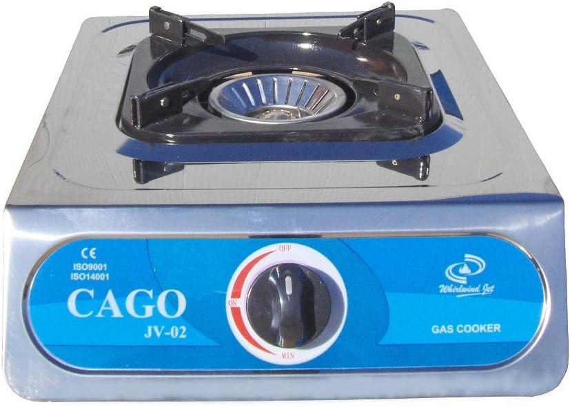 Cago Turbo Gaskocher JV-02s 1-flammig 30-50 mbar Kocher Campingkocher