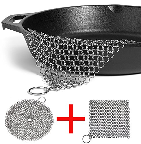LOOCH Cast Iron Cleaner 2 Pack- 8