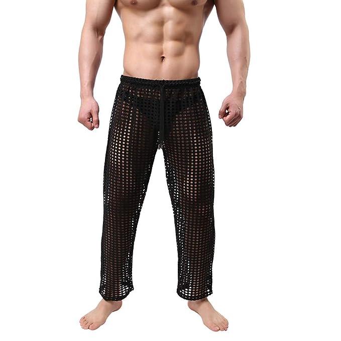 vendita online miglior sito eccezionale gamma di stili SMENGG Pantaloni da Uomo Cava da Uomo alla Moda, Divertenti ...