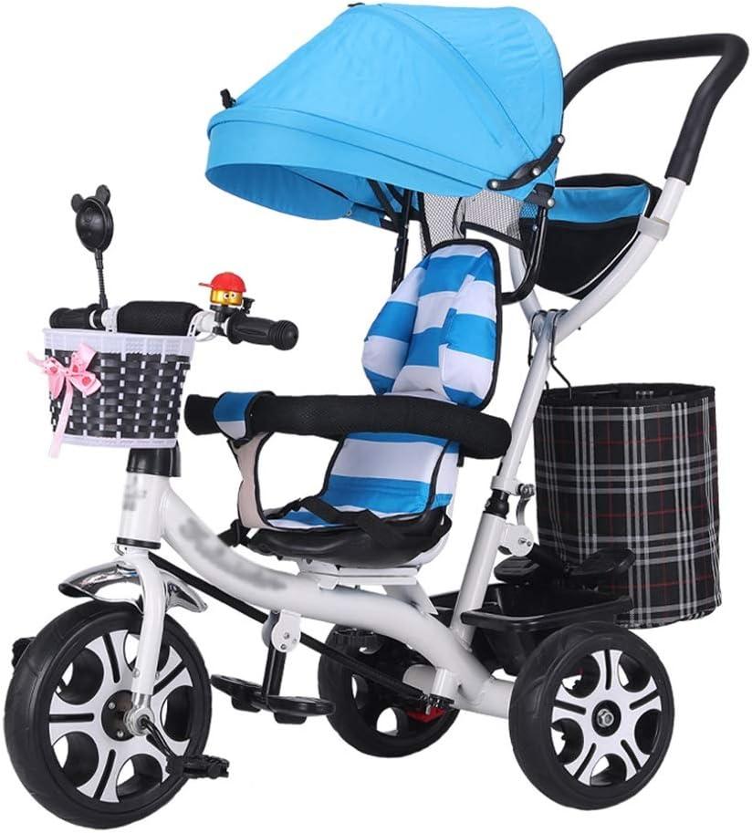 Cochecito de bebé Triciclo Moto Marco de Acero de Alto Carbono ...