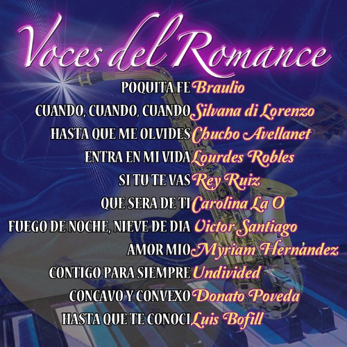 Various artists Stream or buy for $8.99 · Voces del Romance