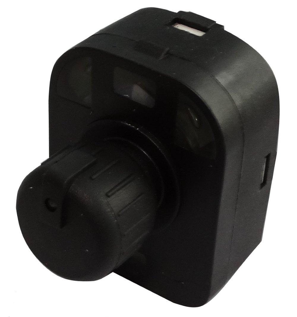 Aerzetix: Bouton de ré glage ré troviseurs laté raux compatible avec 8E0959565A C17175 C17175-B544