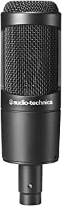 Audio-Technica AT2035 Large Diaphragm Studio Condenser Microphone (Renewed)
