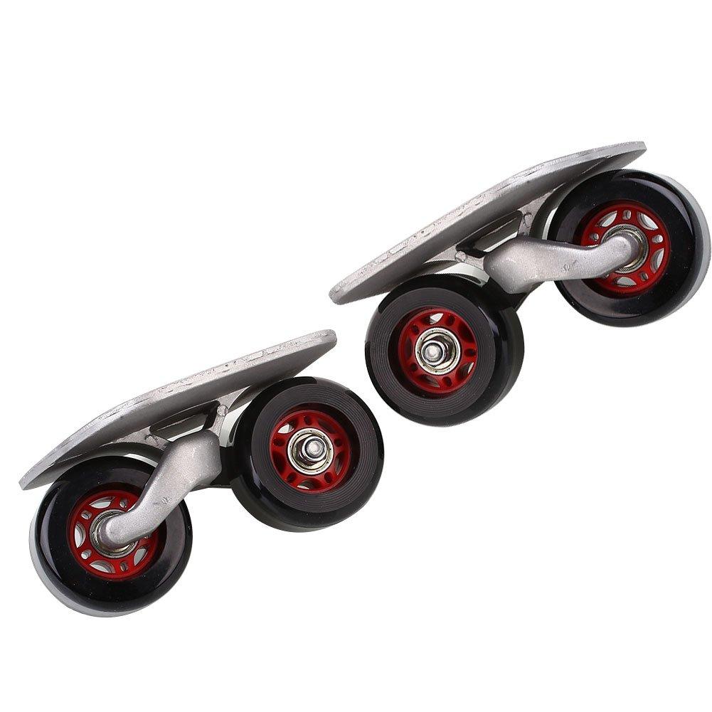 Beautyrain Junta de deriva Driftboard Skates anti de la resbaló n tablero de patinaje monopatí n de scooters portá til para el aire libre Entretenimiento Conveniencia Forfar