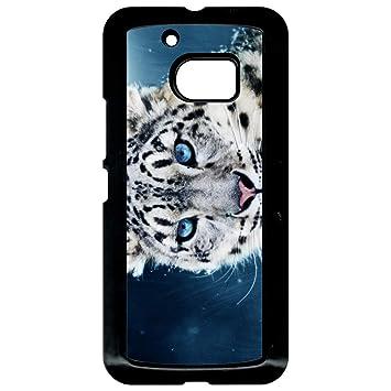 Carcasa HTC 10 Tigre Blanco Ojos azules: Amazon.es: Electrónica