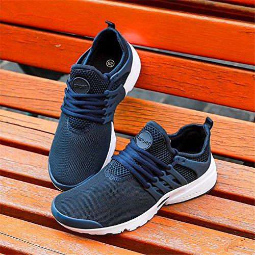 Fires Men Fashion Sneakers für Männer Sport Training Breathable Casual Wanderschuhe Blau