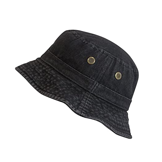 6c86a683d0d18 ChoKoLids Denim Jean Cotton Bucket Hat