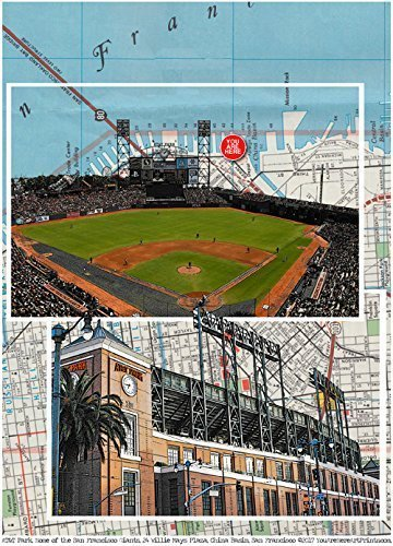 Baseball, San Francisco Stadium, home of the Giants, China Basin, California, 8.5