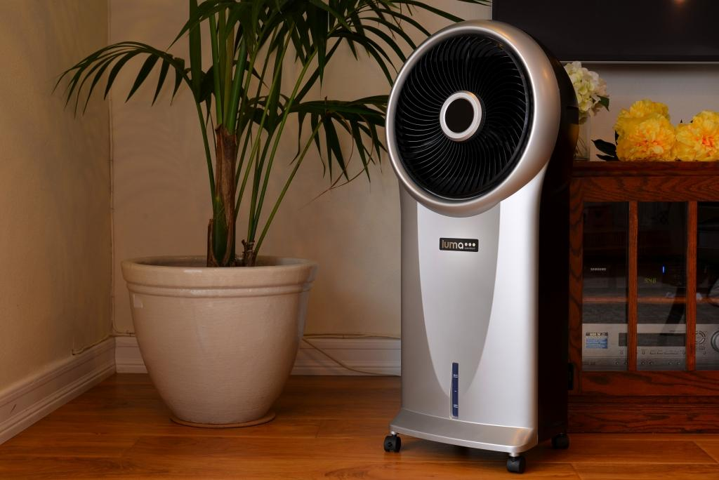 Portable Evaporative Cooler Air Humidifier Fan Cold