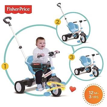 Fisher Price Charm Trike - Triciclo para bebé, Color Azul: Amazon.es: Juguetes y juegos