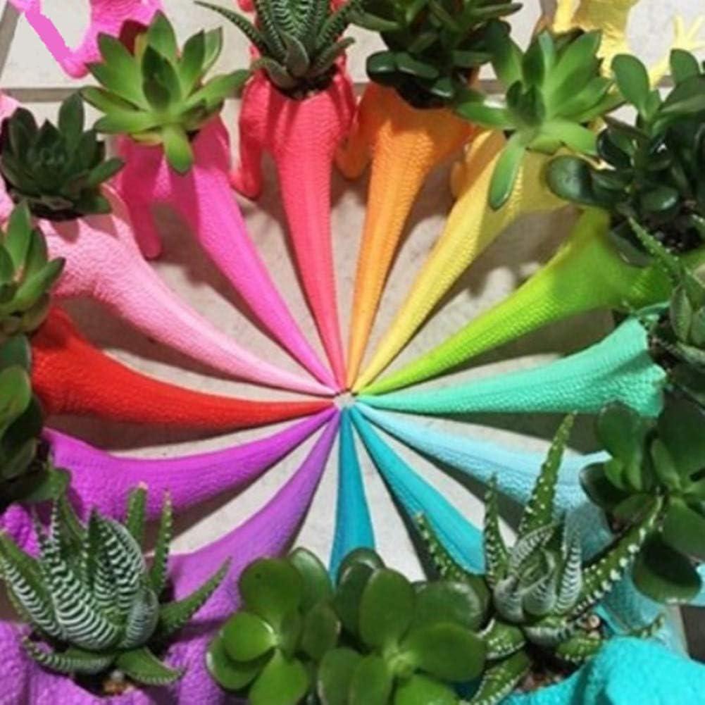 chegong Dinosaur Planter Gardening Succulent Plant Vase Flower Pot Gray2 Gray 2Pcs