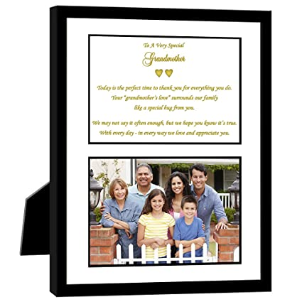 Amazon.com - Grandmother Gift with Sweet Poem for Birthday ...