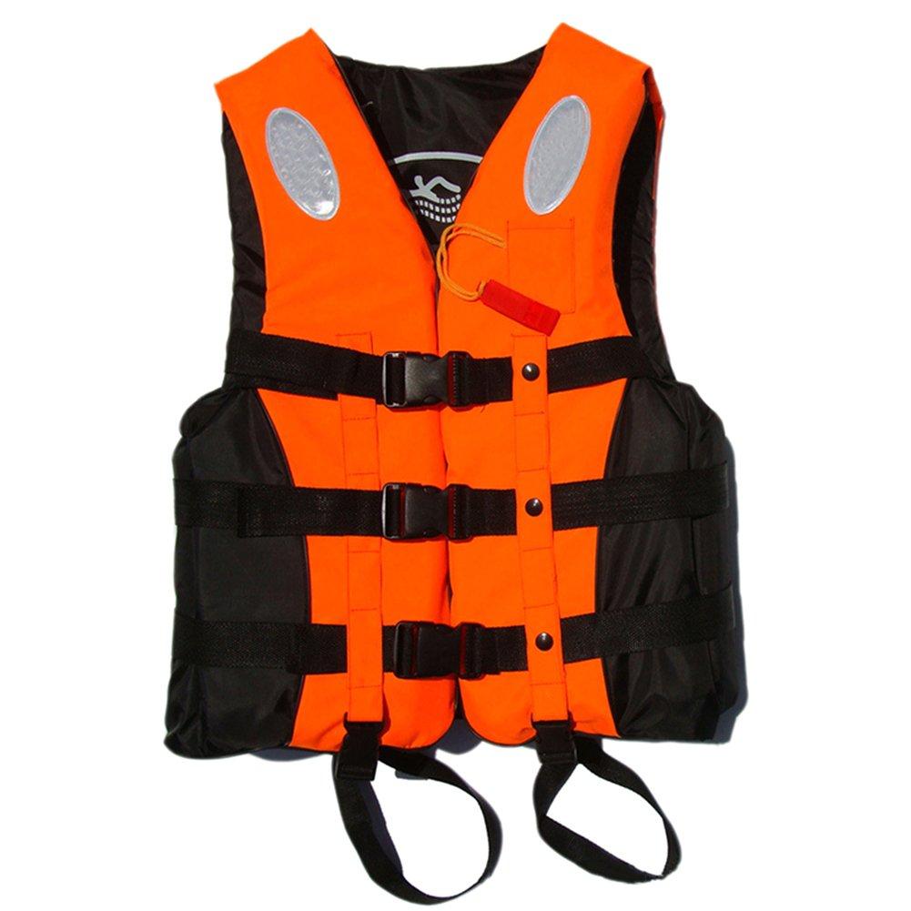 Gracefulvara大人用Buoyancy Aid Sailing製カヤックライフジャケット 4L オレンジ B074P1LSWP
