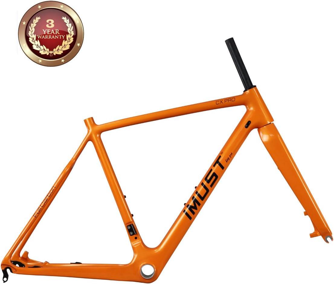 IMUST Full carbono ciclocross bicicleta cuadro CX Pro BB86 & Di2 ...