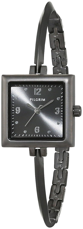 Pilgrim Damen-Armbanduhr Analog Quarz Edelstahl 701533100