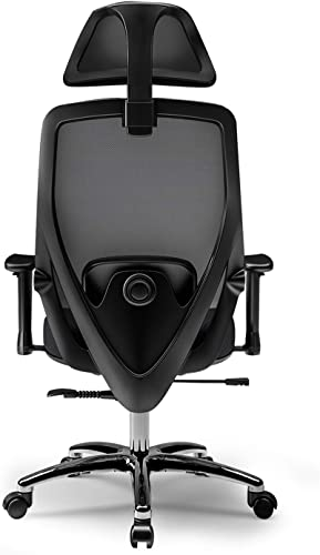 Reviewed: Lefuneo Ergonomic Adjustable Back Office Swivel Task Chair Breathable Mesh Chair Modern Executive Mid Back Rolling Black Chair