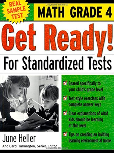Get Ready! For Standardized Tests : Math Grade 4
