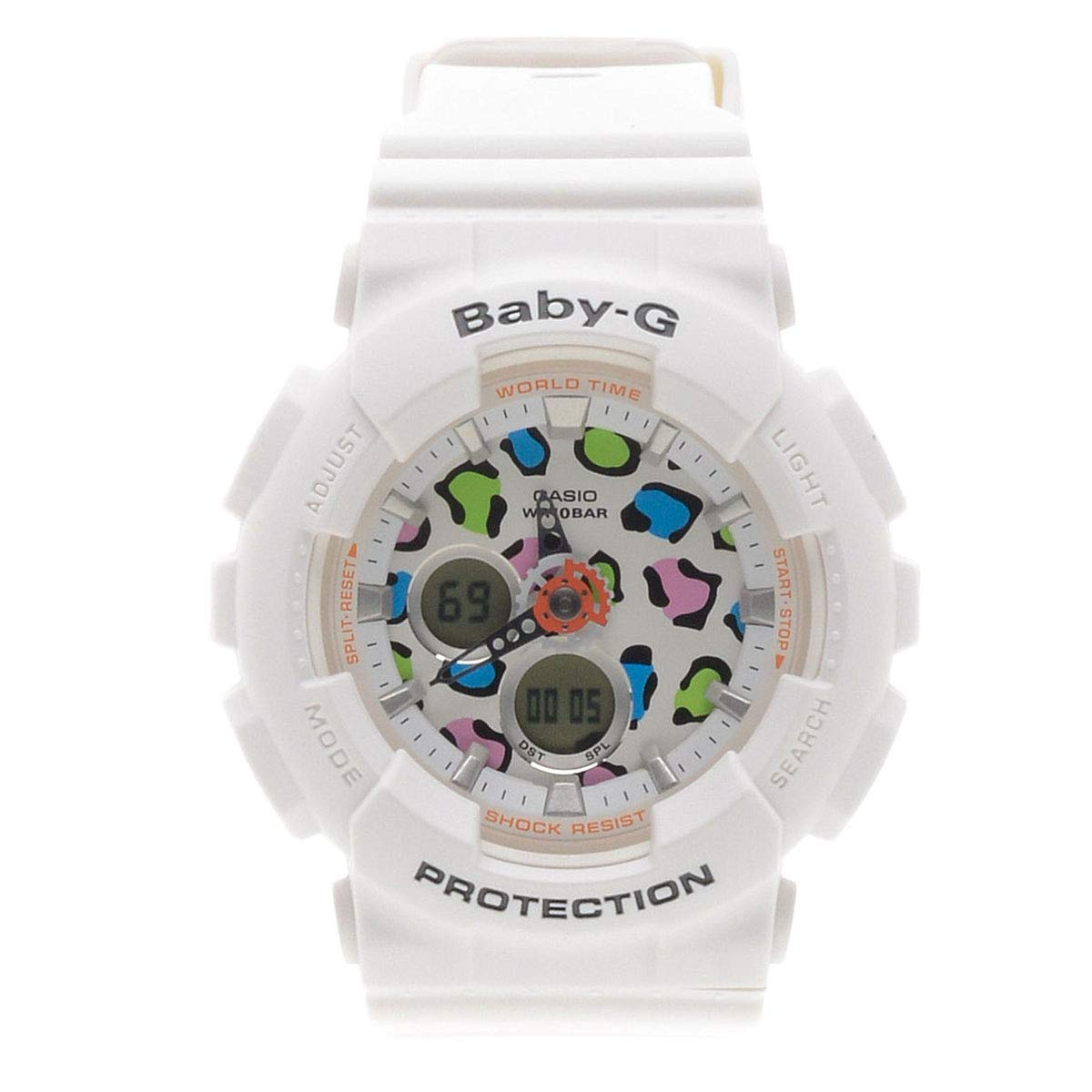 Casual Ba 120lp 7a1 Multicolored Dial Womens Analog Digital Casio Baby G 112 4a Quartz Watches