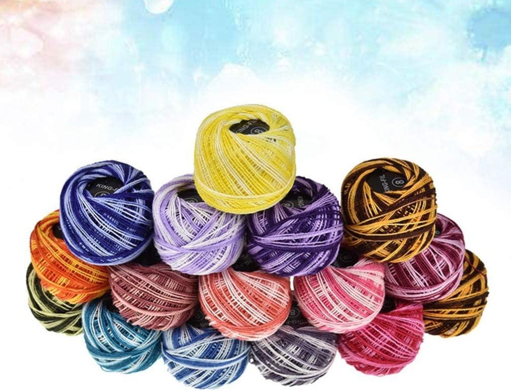 SUPVOX 16 colores de hilo de bordar hilo de punto de cruz pulseras ...