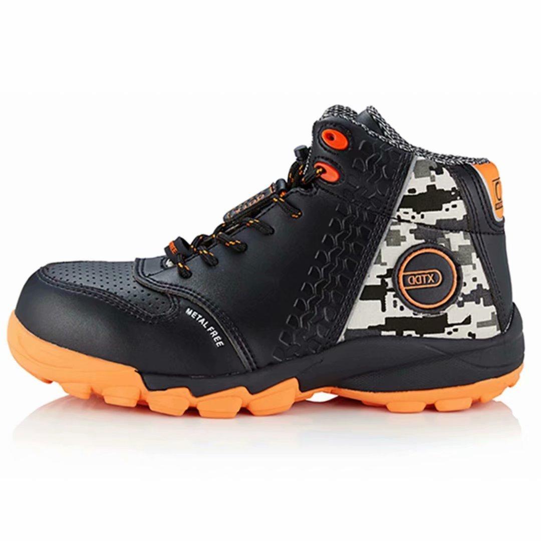 DDTX Botas de Seguridad Hombre (Puntera Composite, Entresuela de Kevlar, Antiestáticos, S1P) Zapatos de Seguridad Trabajo Comodas Transpirables Negro: ...