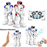 Kid Intelligent Remote Control Music Lighting Early Education Electric Robot Toy