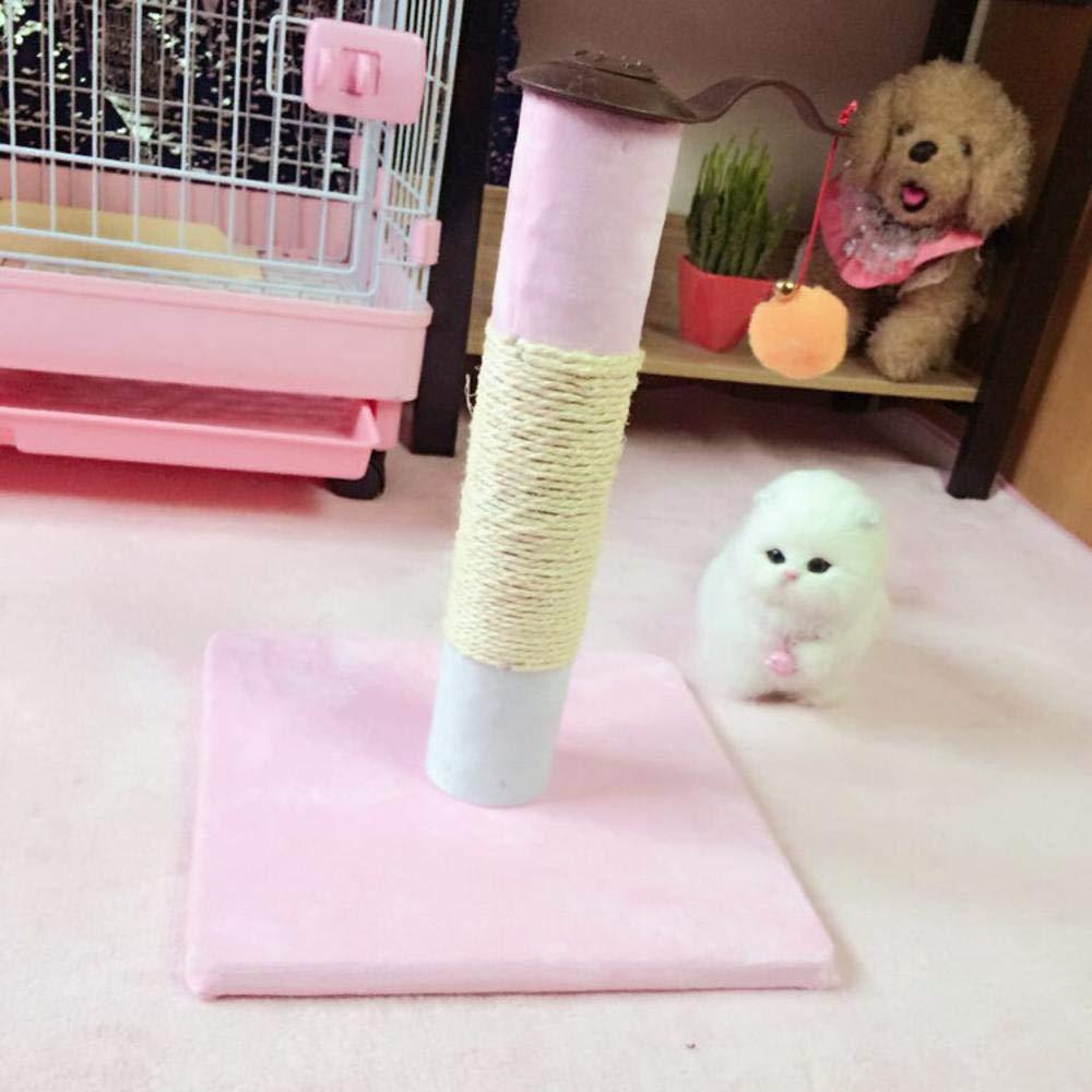 Ludage Animale domestico Gatto di salita telaio salto gatto lettiera gatto albero gatto grab pilastro cm 30  30  38 cm