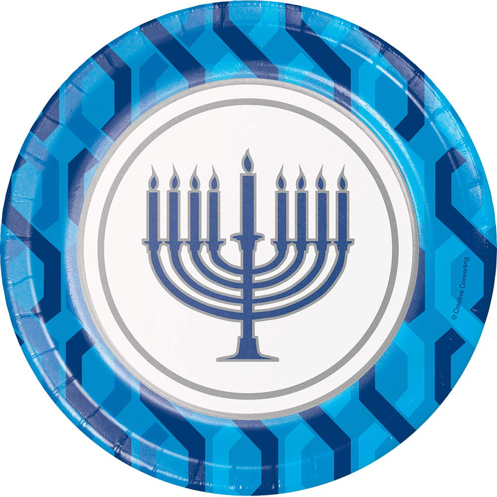 Serves 8 Guests Menorah Jewish Theme Party Supplies Set