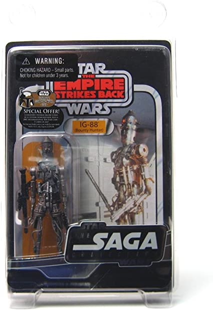 Star Wars Trilogy Collection IG-88 Bounty Hunter 3.75 Action figure