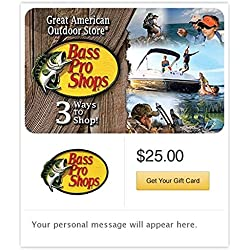 Bass Pro Shops Gift Cards - E-mail Delivery