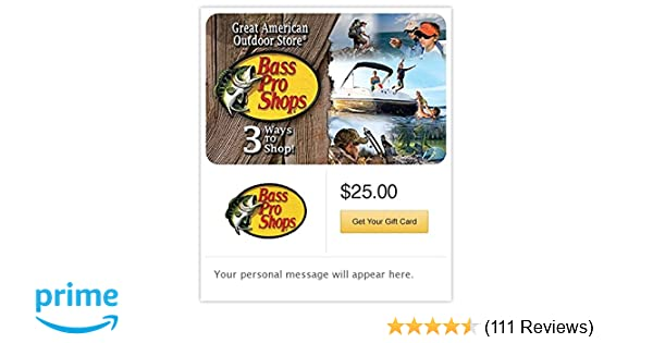 Amazon com: Bass Pro Shops Email Gift Card Configuration Asin: Gift