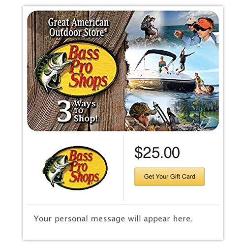 Bass Pro Shops Gift Cards   E Mail Delivery