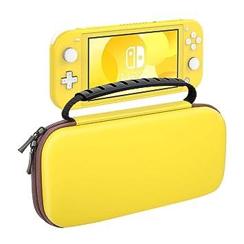 MoKo Maletín Compatible con Nintendo Switch Lite 2019, Funda de EVA Portátil Delgado Caja Protectora de Viaje para Nintendo Switch Lite con 10 Puestos ...