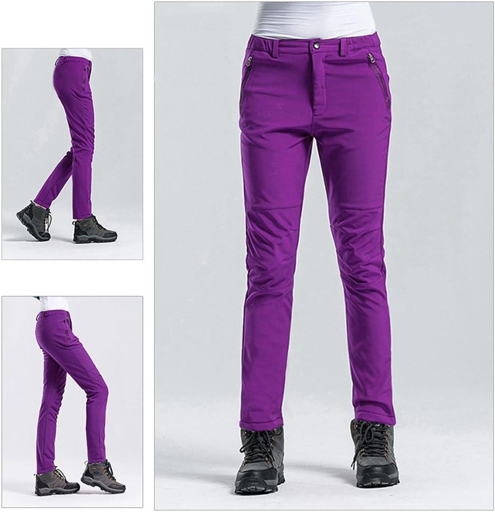 GTKC Softshell Pile Foderato Pantaloni Impermeabili Antivento Camminata allAperto Escursionismo Arrampicata Pantaloni