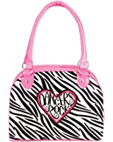 Dancers Rock Zebra Duffel