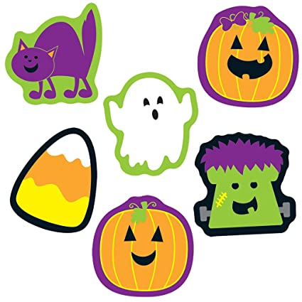 Amazon.com : Halloween Mini Cut-Outs : Office Products