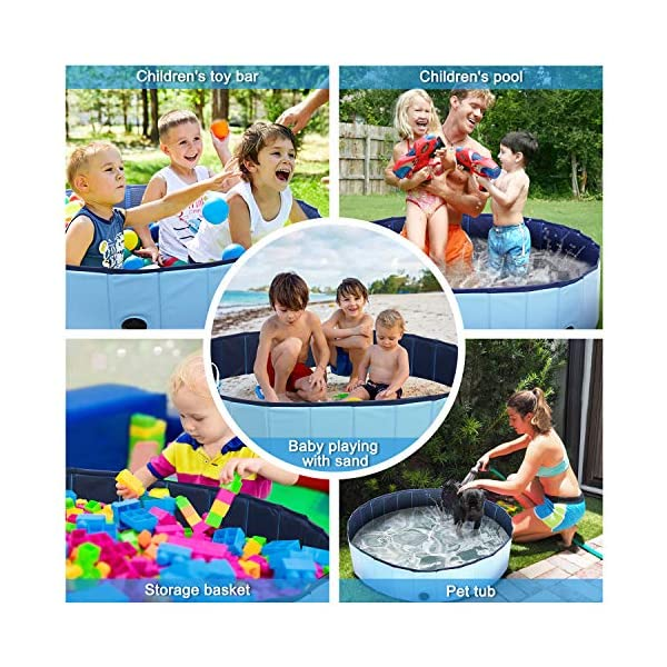 Winipet Foldable Dog Paddling Pool 2