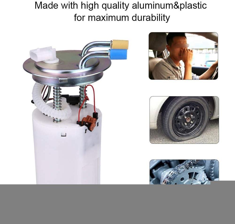 Fuel Pump and Sending Unit Assembly for Trailblazer Envoy SSR Bravada Ascender L6 V8 XL 4.2L 5.3L Vin Code S P 2002 2003 2004 E3549M FG0387 Fuel Pump Module Replacement