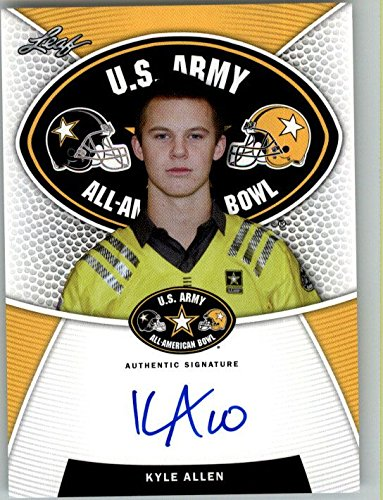 2014 KYLE ALLEN Leaf US Army Autograph Rookie Auto RC TEXAS A&M from Leaf